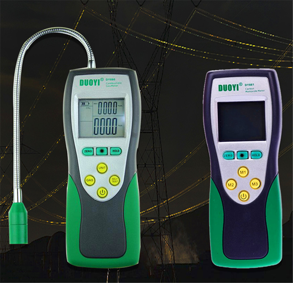 Carbon Monoxide CO Meter Gas Detector Combustible gas detector alarm gas leak detector Gas Analyzer