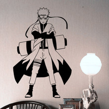 Free shipping diy wallpaper Cartoon Ninja Poster cartoon Wall Stickers bedside personality room decoration vinyl stickers