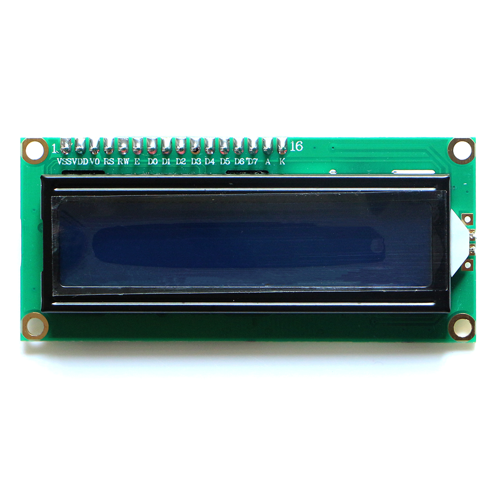 10pcs/lot 1602 Blue Backlight LCD Display Module