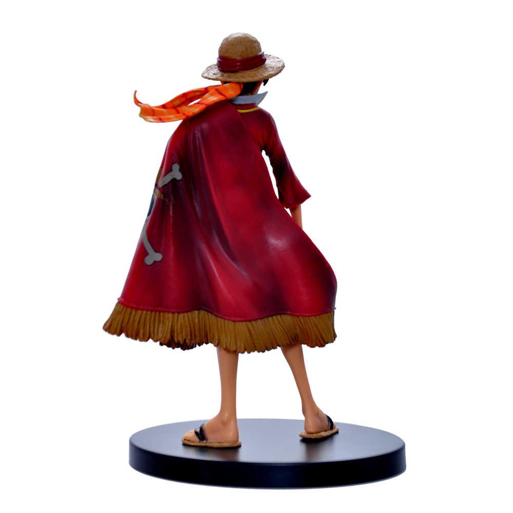 Аниме Одна деталь Прохладный Обезьяна D Луффи 14 см фигурку Grandline леди 15th модель горячие детские игрушки коллекция подарок кукла оригинальная коробка