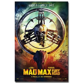 Плакат Гобелен Шелковый Безумный Макс Дорога Ярости вариант 2