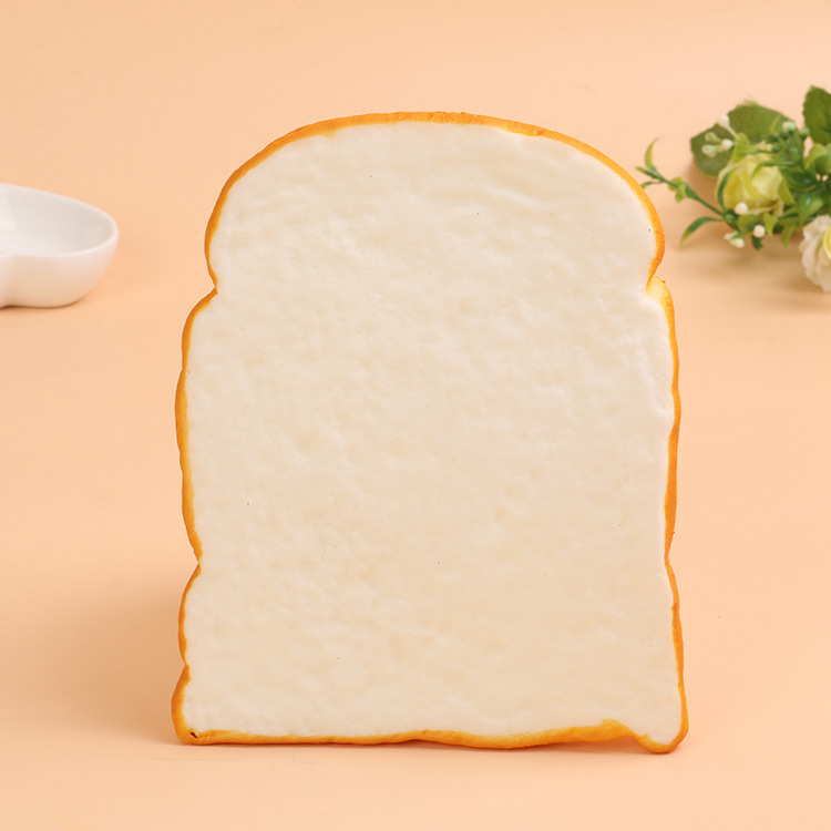 50PCS LOT rare squishy simulation of toast bread 12cm bread free shipping