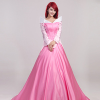 sexy sleeping beauty dress halloween costume princess aurora dress adult women sleeping beauty movie cosplay clothes