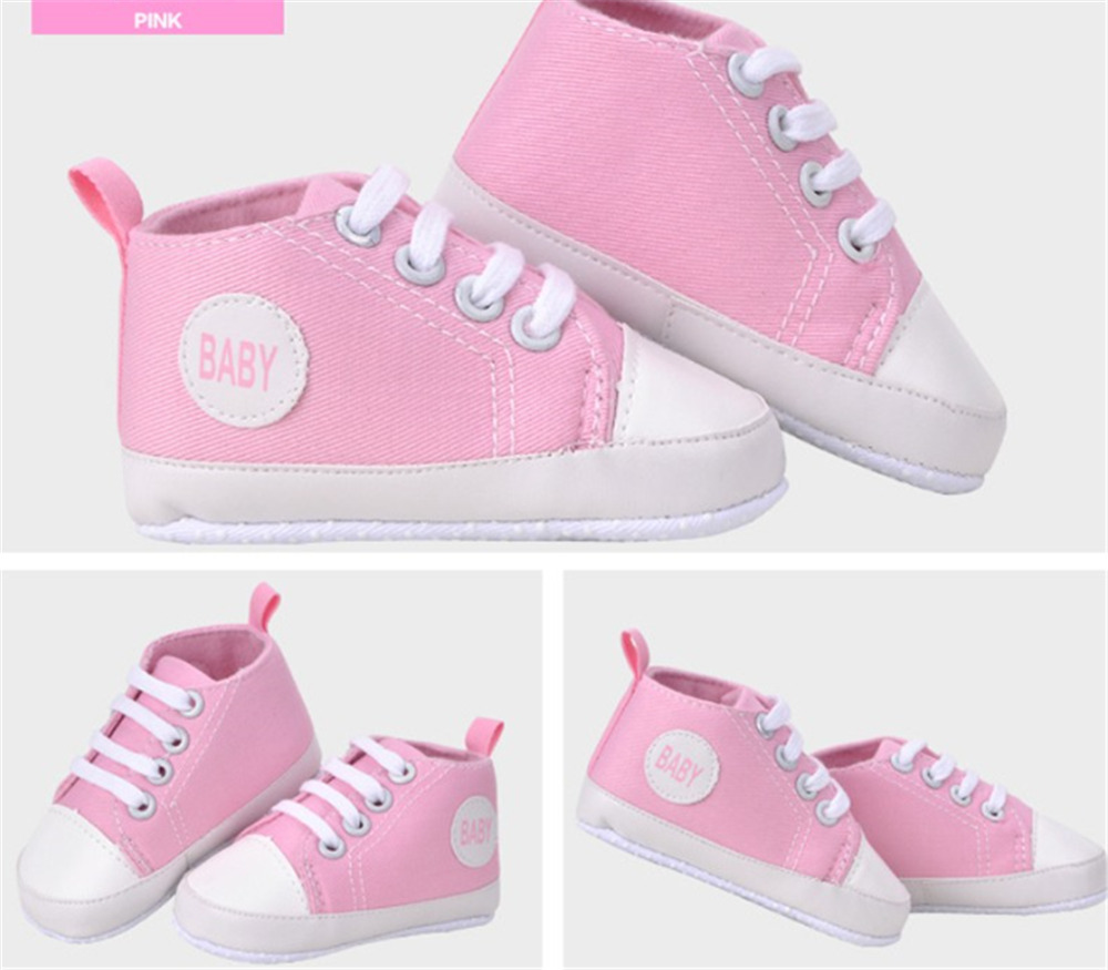 Canvas Shoes Rainbow Prewalkers Girls Boys New Casual Soft High-Quality