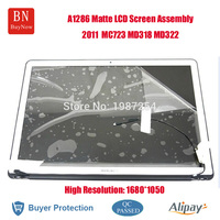 High Resolution 1680*1050 For Apple Macbook Pro 15.4inch A1286 Matte LED LCD Screen Display Assembly 2011 Year MC723 MD313 MD322