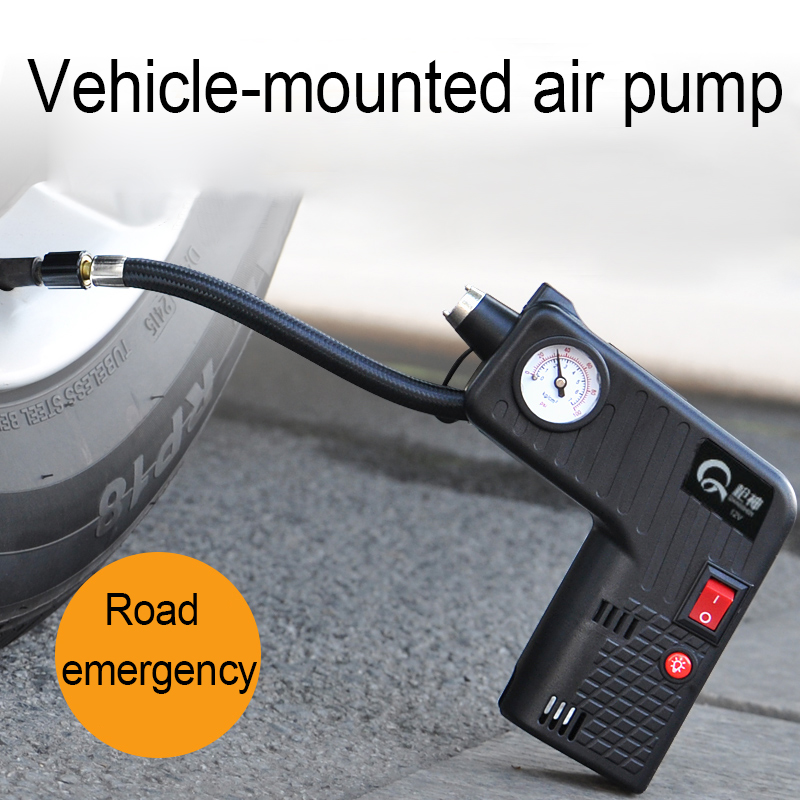 0-100PSI Portable 12V digital Car Air Compressor pump kompresor Tyre Tire Inflator with 3M Long Power Cord Cigarette Ligher Plug