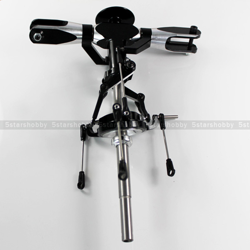 GARTT 550 Rotor Head Assembly Complete Flybar Fits Align Trex 550 RC Helicopter