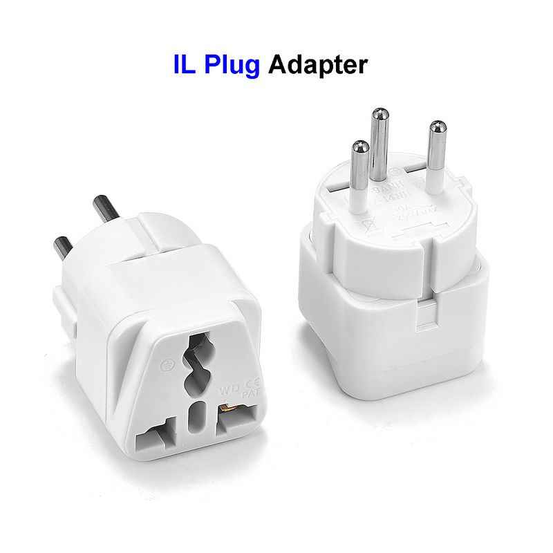 Universele IL EG Plug Adapter AC Converter EU VS AU UK Naar Israël Egypte 3 Pin Travel Power Adapter Outlet wall Charger Socket