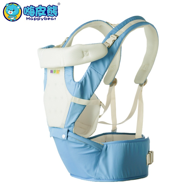 HappyBear Multifunction Baby Carrier Backpack 3D Breathable Mesh Sling For Newborn Baby Chicco Wrap Rider Canvas 1511 al ko 112896 jaso fd 1л