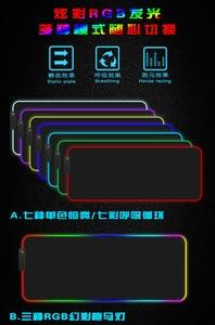 Image 5 - Große LED RGB Gaming Maus Pad Overwatch xxl Schreibtisch Tastatur Matte USB Beleuchtung Computer Maus Pad Welt Karte Gamer für LOL Dota