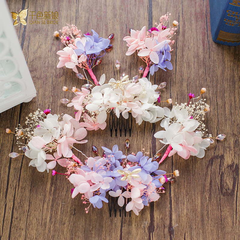 Charm silk flower hair combhairgrips girl hairpins rhinestone hair charm silk flower hair combhairgrips girl hairpins rhinestone hair clips crystal bride headpiece wedding accessories my07 in hair jewelry from jewelry mightylinksfo