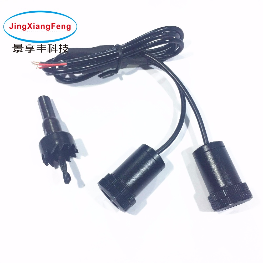 JingXiangFeng высокаякасны футляр для Renault 5W LED Car Car Interio Ghost Shadow Light Auto Auto Logo 2PC Універсальны прывітальны праектар