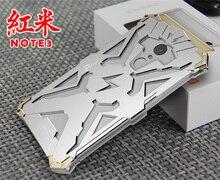 hongmi note3 Original Design Armor Heavy Dust Metal Aluminum THOR IRONMAN protect phone shell case cover for hongmi note3 case