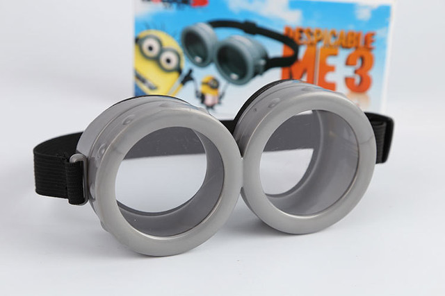 de5e5b1ccd2 Minions 3D Glasses Despicable Me 3 Cartoon Toys High Quality Plastic For  Children Cosplay Minion Glasses Kids Toys Free Shipping