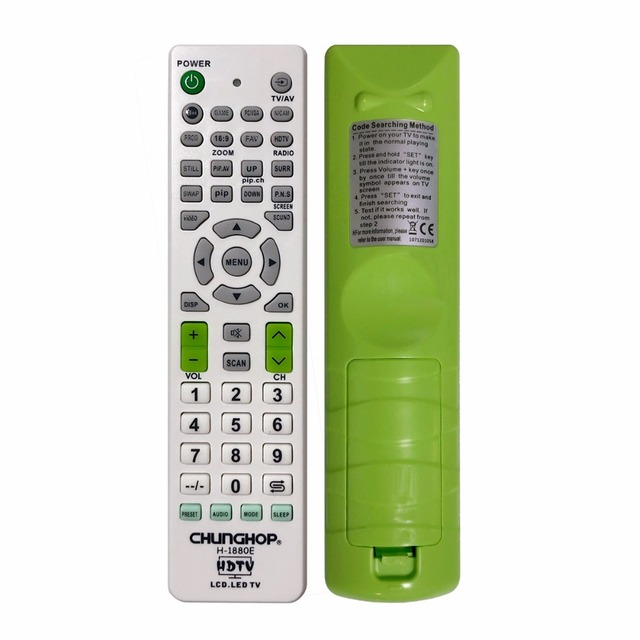 US $3 38 |Universal Remote Control Controller Replacement for Panasonic for  Haier for Hisense TV-in Remote Controls from Consumer Electronics on