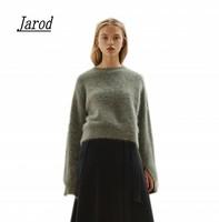 Super Warm Mink Cashmere Soft Elastic Sweaters And Pullovers Women Autumn Winter Sweater Half Turtleneck Female