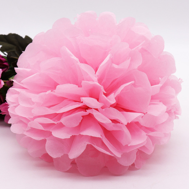 5pcs paper flower ball tissue paper pom poms paper flower ball 5pcs paper flower ball tissue paper pom poms paper flower ball pompom for home garden wedding mightylinksfo Choice Image