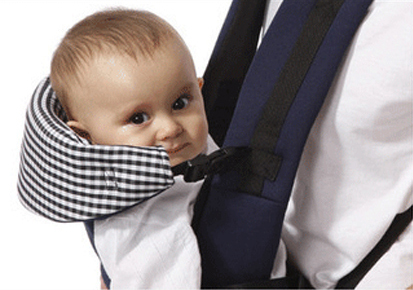 Mummy Kangaroo Wrap Ergonomic Baby Carrier – red