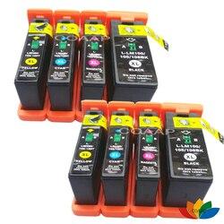 8 kompatybilny lexmark 100XL 105XL 108XL wkład Pinnacle Pro901 Platinum Pro905 odpowiadać  Pro805 pierwszeństwo Pro705 perspektywa Pro205