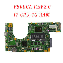 Original P500CA S551LA for ASUS Laptop Motherboard 60NB00F0-MB5000 P500CA REV.2.0 i7 4GB RAM 100% fully tested & working