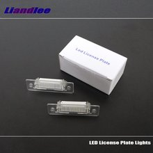 цена на Liandlee For Volkswagen VW Caddy III 2004~2010 / LED Car License Plate Lights / Number Frame Light / High Quality LED Lamp