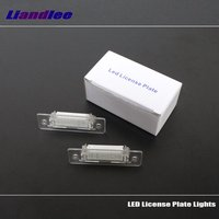 Liandlee For Volkswagen VW Caddy III 2004~2010 / LED Car License Plate Lights / Number Frame Light / High Quality LED Lamp