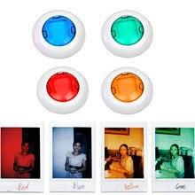 4 шт./5/6 шт. цветная видеокамера крупным планом Цветной фильтр для объектива для мгновенной печати Polaroid фотоаппарата моментальной печати Fujifilm Instax Mini 9 8 камеры одноступенного процесса 8 7S KT мгновенная Плёночные фотокамеры