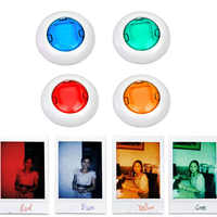 4 pièces/5/6 pièces Coloré Caméscope Gros Plan Couleur Lentille Filtre pour Polaroid Fujifilm Instax Mini 9 8 8 7 S KT Appareils Photo Instantanés