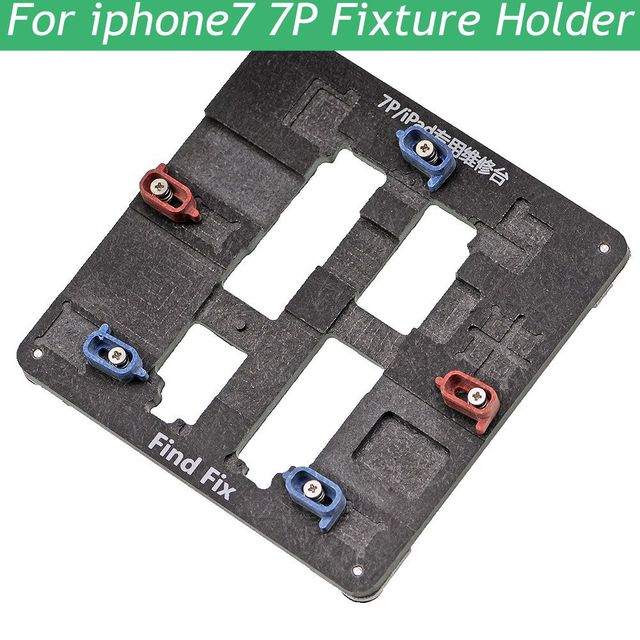 Best quality High Temperature Resistant Motherboard PCB Fixture Holder For iPhone 5 6 7 IC Maintenance Repair Mold Tool Platform