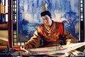 Delicado bordado de la dinastía Tang oficial de vestuario TV juego emperatriz de China Lizhi mismo diseño juego de la espiga emperador traje amarillo