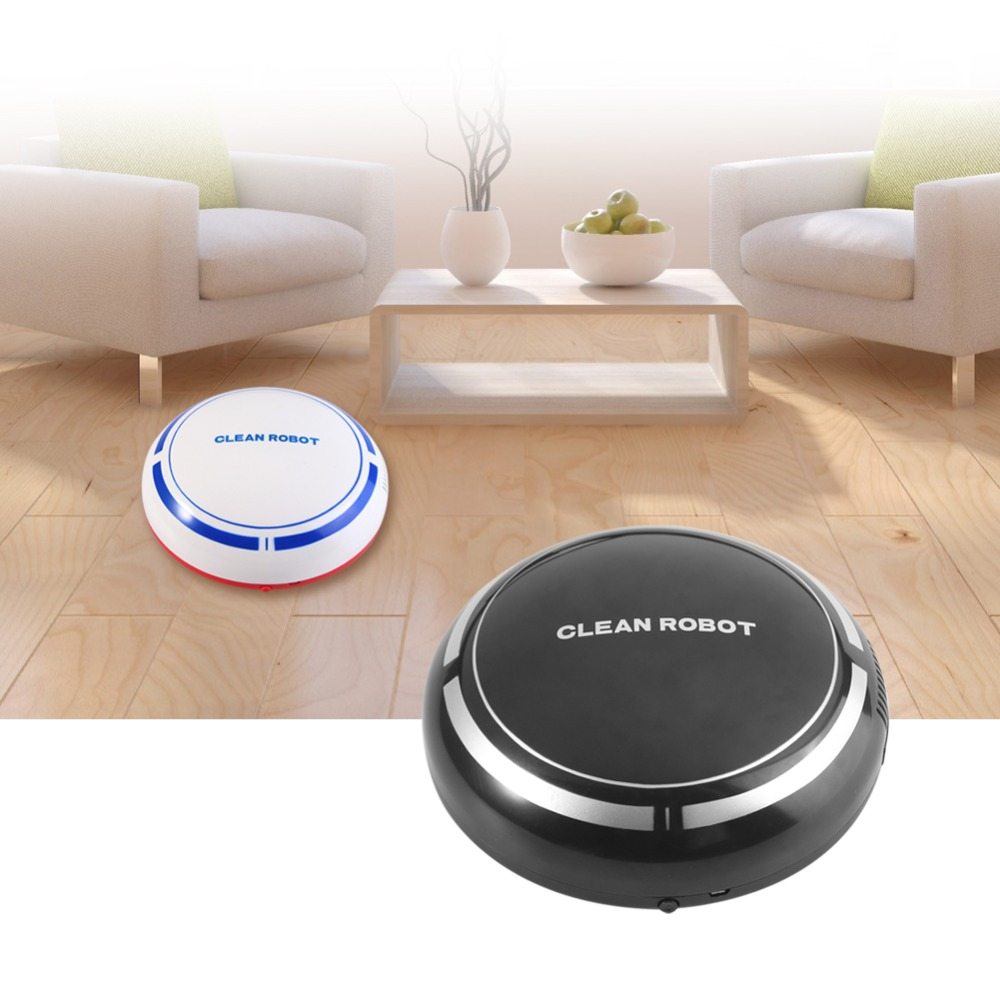 USB Rechargeable Sweeping Robot  4