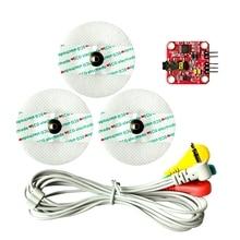 Мышечный датчик сигнала контроллер Emg датчик обнаруживает мышечную активность для Arduino