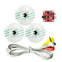 กล้ามเนื้อสัญญาณเซ็นเซอร์ EMG SENSOR ตรวจจับกล้ามเนื้อกิจกรรมสำหรับ Arduino