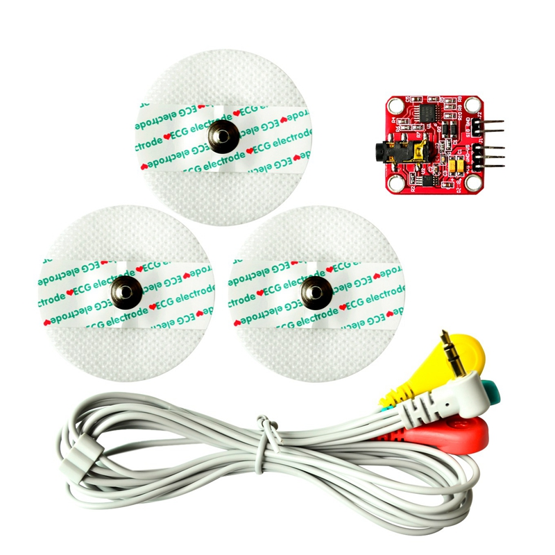 Muscle Signal Sensor Emg Sensor Controller Detects Muscle Activity For Arduino