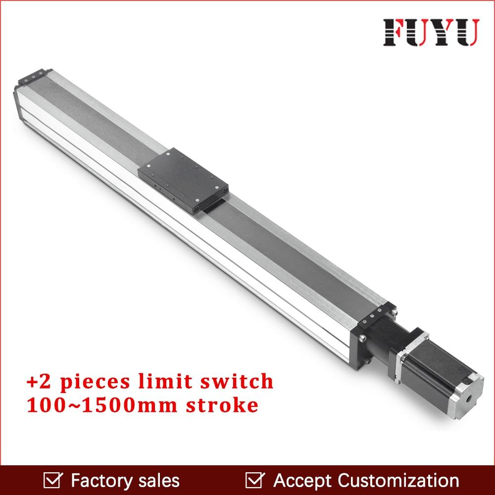 ball screw cnc linear guide rail motion stage slide actuator module nema 24 stepper robotic arm