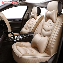 Car-Seat-Covers Mercedes-Benz W204 W211 Car-Styling for Flax W203 W210 AMG E-S-Cls CLK