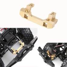 LeadingStar 1:10 RC TRX4 Front Bumper Mount Gold Servo Relocation Mount For Traxxas TRX-4(China)