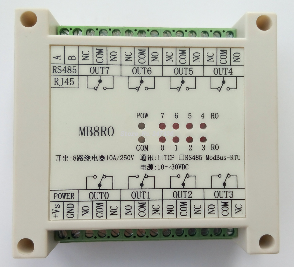 Switch Output Module 8 Relay Isolation Type Modbus Rtu Rs485 Meaning Communication In Power Tool Accessories From Tools On Alibaba Group