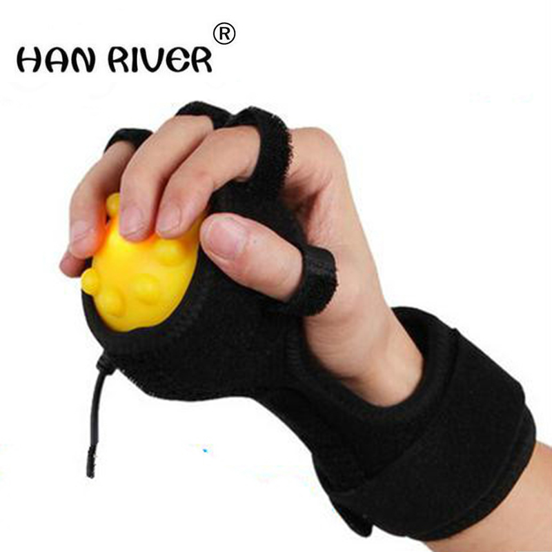 Hot Compress Hand Massager Ball, Hand Physiotherapy & REHABILITATION for finger dystonia which caused by HEMIPLEGIA & STROKE, hand physiotherapy rehabilitation training equipment dynamic wrist and finger orthosis for hemiplegia patients tendon repair