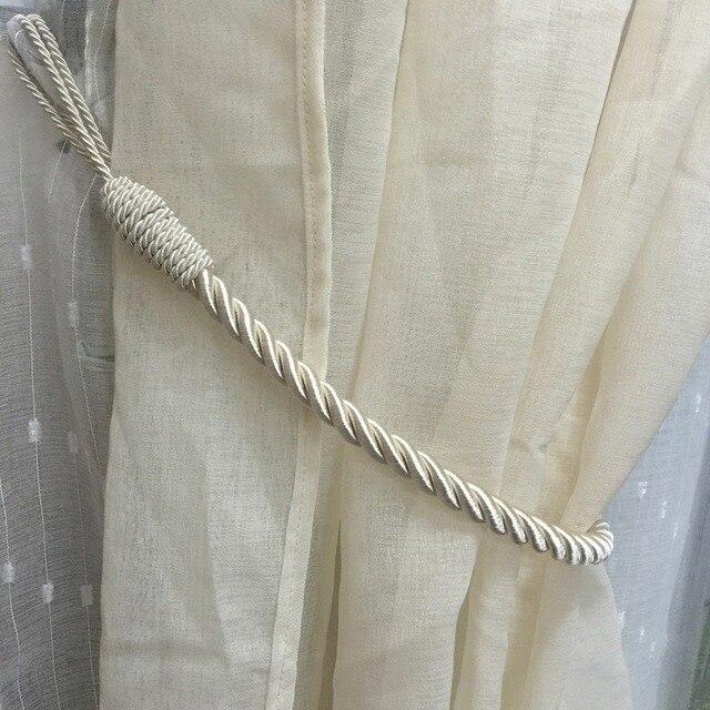 gordijn accessoires gordijn tiebacks gordijn tieback touw tiebacks venster decoratieve draperie cortinas holdbacks woondecoratie