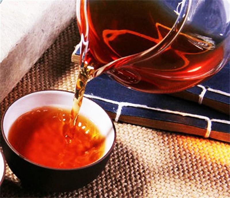 C-PE073 Pu Er 73 jujube flavor brick tea Puerh Pu er Pu erh Pu'er cooked Puer Tea Brick Ripe Thick Brick Lose Weight Tea