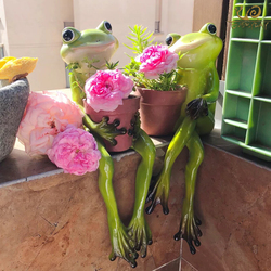 Everyday Collection Resin Frogs flower pots planters Home Decoration Accessories fairy garden decoration Succulent bonsai pot