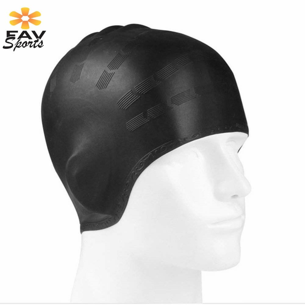 Outdoor Sports Swimming Cap Elastic Waterproof Long Hair Cover Ears Protect Anti-slip Swim Pool Hat for Bonnet De Bain Femme Karachi