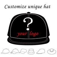 1 יחידות אישית ילדים בוגרים כובע נהג משאית כובע בייסבול כובע Snapback המותאם אישית כובע snapback סגנון טקסט לוגו רקמת גודל