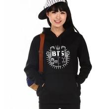 BTS Kpop Print Hoodies for Women