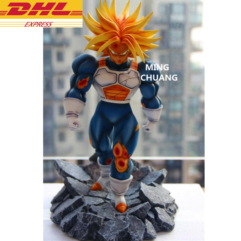 Dragon Ball troncs Statue Super Saiyan Torankusu buste GK Gohan et Goten meilleur ami résine figurine à collectionner modèle jouet