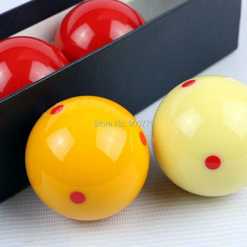 Corea Carom Bola de billar 4pcs / set 65.5 mm Suministros Juegos de - Entretenimiento - foto 2