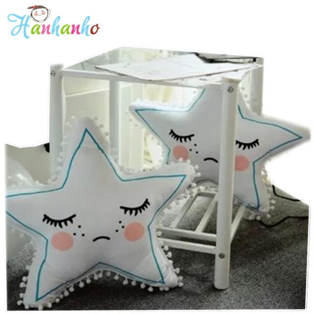 Super Schöne Kreative Schlafen Stern Kissen Baby Kissen Kinder Schlafzimmer  Dekoration Weichem Plüsch Spielzeug Wohnkultur