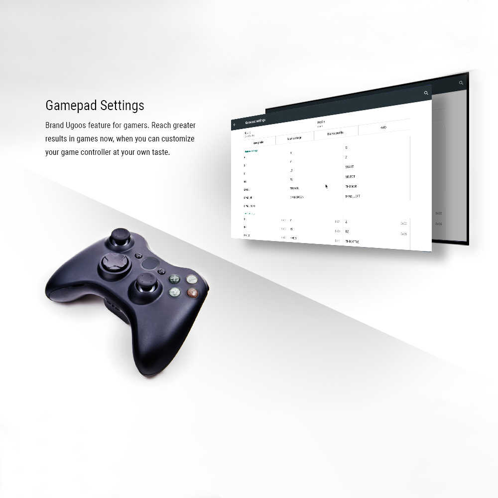 UGOOS AM6 Android tv Box Smart Android 9,0 Amlogic S922X 2 Гб LPDDR4/16 ГБ 2,4 г/5 г WiFi BT 5,0 4K HD медиаплеер ТВ Smart tv