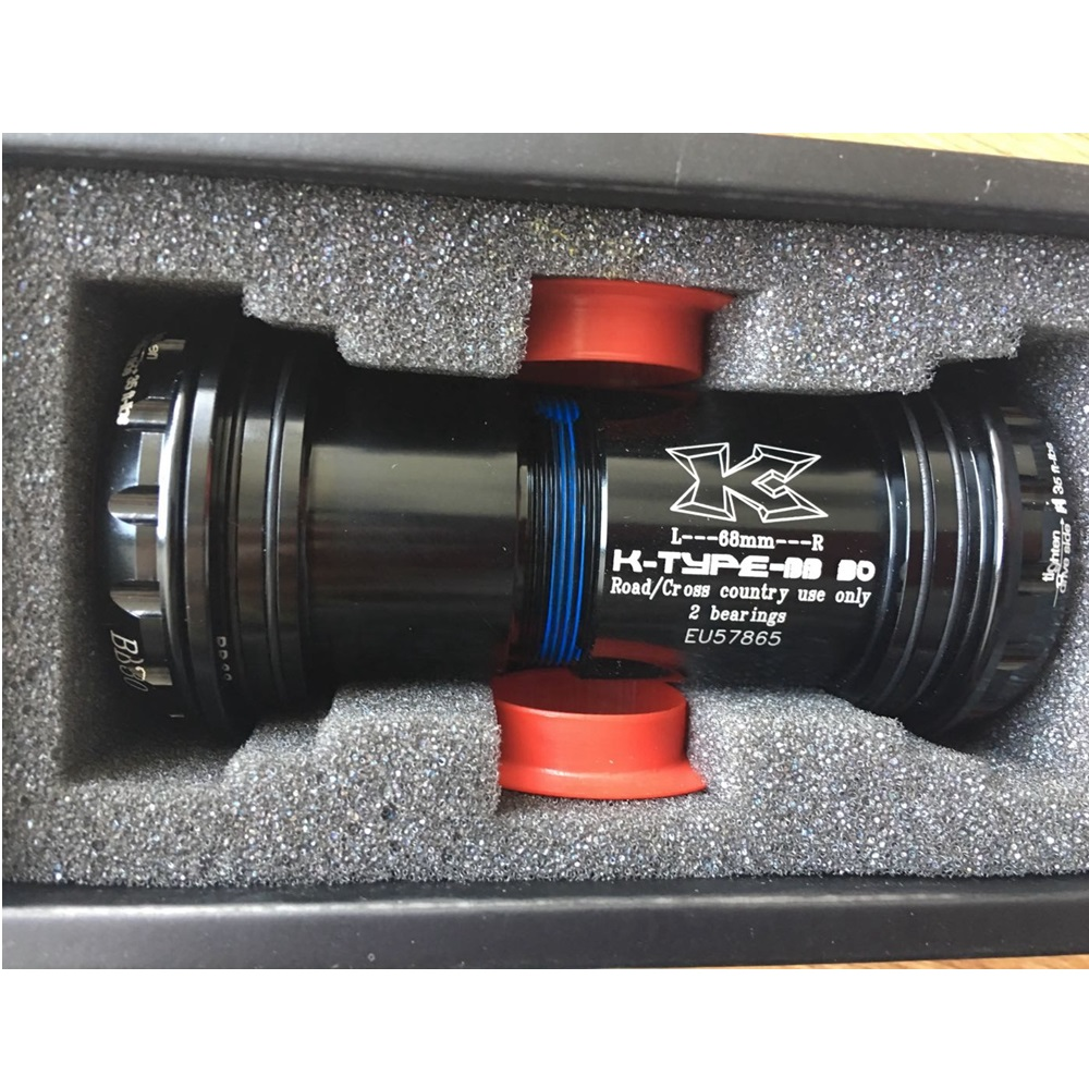 Kcnc bb30 press fit bottom bracket adopt 68mm bb shell for Bb fit padova